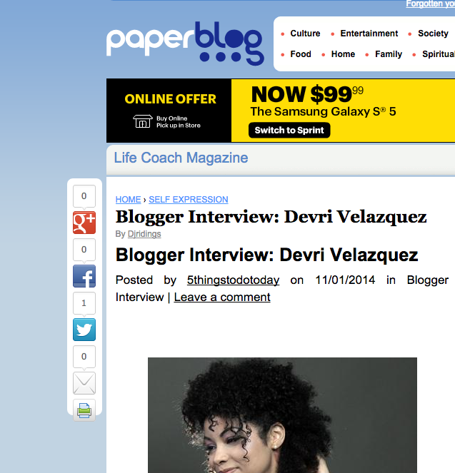 featured on English Paperblog