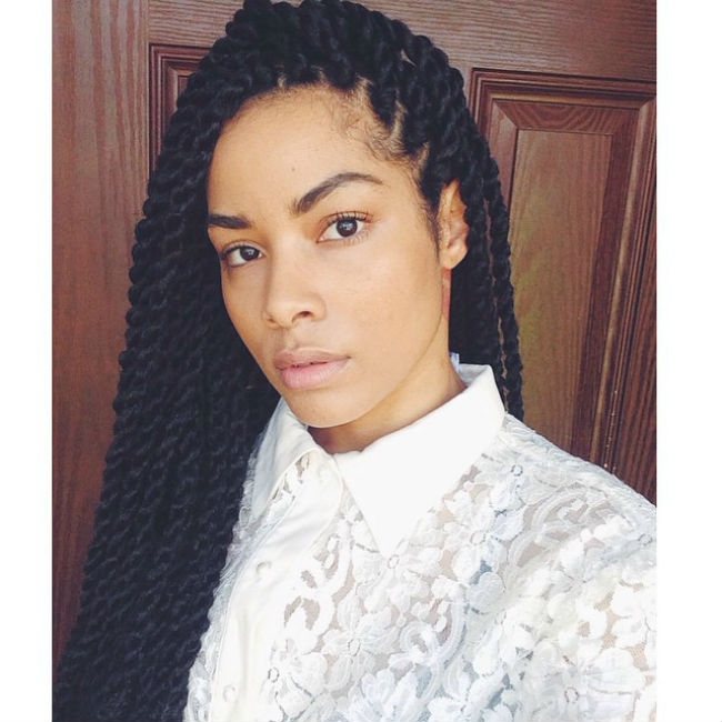 Entering 2015 With A New Protective Style: Havana Marley Twists