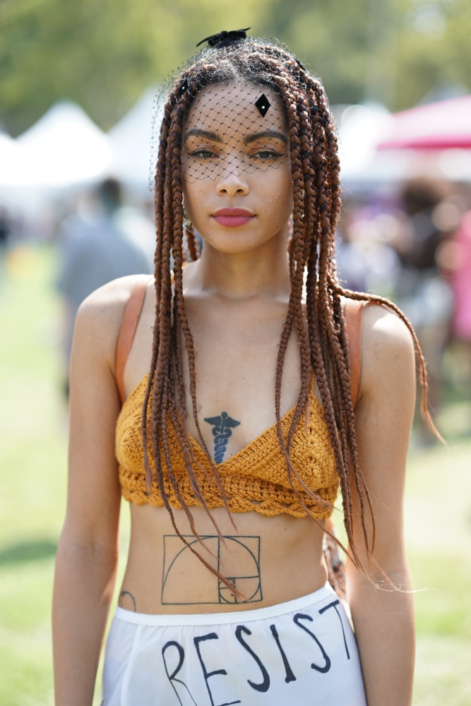 All sun, no shade: AfroPunk2017